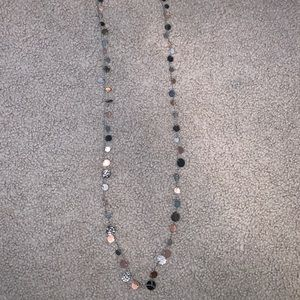 Metal Colored Long Necklace From Belk